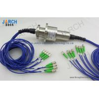 Wholesale 360° Rotating Fiber Optic Rotary Joint Eight Channels With 850-1650nm Wavelength from china suppliers