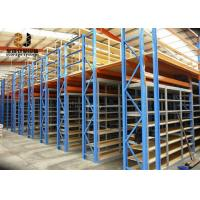 Wholesale Powder Coated Light Duty Storage Rack / Adjustable Shelf Height Steel Storage Shelves from china suppliers