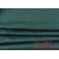 Wholesale 88%P 12%SP Cotton Knit Fabric Dark Blue Striped Jacquard Fabric For Clothes from china suppliers
