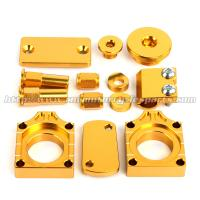 Wholesale Aluminum Alloy MX Bling Kit Gold Blue For Motocross Bikes Suzuki RMZ 250 450 from china suppliers