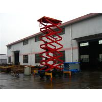 Wholesale 450KG Mobile Scissor Aerial Work Lift Platform 4 meters Driving wheel from china suppliers