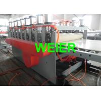 Wholesale 4 - 30mm WPC Board Extrusion Line For Furniture And Construction Template , PVC And Wood Powder from china suppliers
