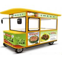Wholesale Custom Four Wheel Electric Food Truck With 1000W Motor Easy Control from china suppliers