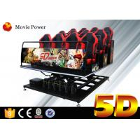 Wholesale Electric System 5D Cinema Equipment Motion Simulator 5D Motion Theater With Motion Seats from china suppliers