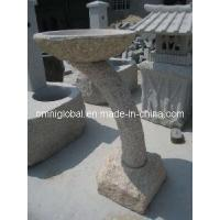 Wholesale Stone Carvings/ Stone Sculptures/ Granite Sculpture/ Marble Sculpture (G682 Granite Bird Bath) from china suppliers