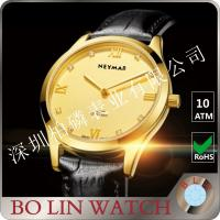 Wholesale 77577 Luxury Brazil Diamond 18K Solid Gold Watch With Black Dial  Branded from china suppliers