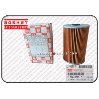 Wholesale 1-87810075-3 Isuzu Rubber / Paper Filters Fsr11 6BG1 Oil Filter Element 1878100753 from china suppliers