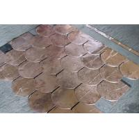 Wholesale Durable Copper Waterproof Fish Scale Asphalt shingles / Fiberglass Roofing Tile from china suppliers