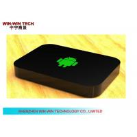 Wholesale Multi Language Android HD Media Player , Black TV Media Player Box from china suppliers
