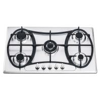 Wholesale 201 Stainless Steel Gas Hob 5 Burner 90cm With Customized Logo Printed from china suppliers