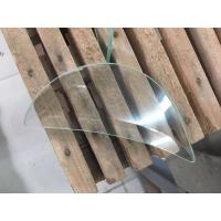 Wholesale Beveled Tempered Safety Glass Hollow Structure Brass / Nickel / Patina Optional from china suppliers