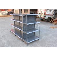 Wholesale Heavy Duty Commercial Supermarket Display Racks With Iron Sheet Backboard from china suppliers
