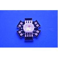 Buy cheap 4X3W Epistar LED Chip High Power RGBW Led Diode With Black Star PCB from wholesalers