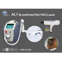 Wholesale Tattoo Removal Q-Switched Nd Yag Laser Machine 532nm 1064nm Non Surgical from china suppliers