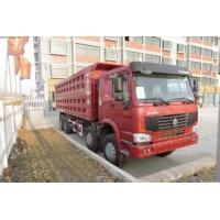 Wholesale 30 tons SINOTRUK HOWO 12 tires dump truck for sand and small stones transportation from china suppliers