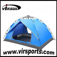 Wholesale Hot Selling portable 3-4 Person Waterproof Outdoor Camping Tent for trekking and family from china suppliers