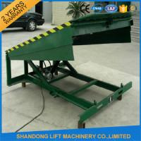 Wholesale 8 Ton Steel Yard Ramp Truck Loading Dock Leveler from china suppliers
