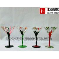 Buy cheap Hand painted lady martini glass/cocktail, wine glass, champagne glass available from wholesalers