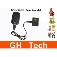 Buy cheap Mini A8 Car GPS Tracker Global Real Time 4 Bands GSM/GPRS Security Auto Tracking Device Support Android For Children Pet from wholesalers