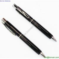 China Promotional cheap personalized pens stationary items metal ball pen on sale