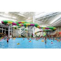 Wholesale Aquatic Playground Equipment , Large Water Slides Capacity for Family Fun in Big Water Park from china suppliers