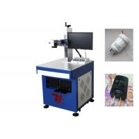 Wholesale Plastic Fiber Laser Marking Machine CE Laser Printing Plastic Machinery from china suppliers
