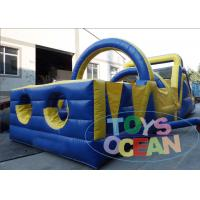 Wholesale Outdoor Crazy Inflatable Obstacles Combo Kids / Adults Obstacle Course Equipment from china suppliers