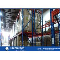 Wholesale Adjustable Heavy Duty Storage Racks , Upright Frame Warehouse Pallet Racking from china suppliers