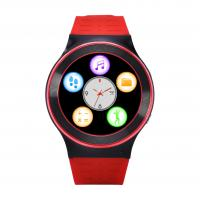Buy cheap Red Smart Bluetooth Watch Phone For Adult / Gps Tracking Touch Screen Watch from wholesalers