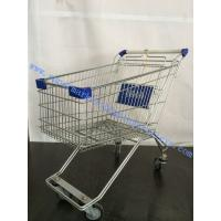 Wholesale 125L Russia Wire Supermarket Shopping Trolleys with Baby Seat from china suppliers