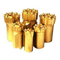 Wholesale Button bits T38-76 golden color drilling for marble and granite stone from china suppliers