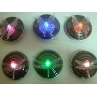 Wholesale Colorful RGB Garden Pool Floating Dragonfly Butterfly Solar Powered LED lamp Flower Night Light For Fountain Pond from china suppliers