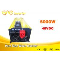 Wholesale 3000w 5000 Watt Pure Sine Wave Inverter  With Charge 64 Bit DSP Control Chip from china suppliers