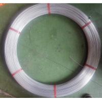 Buy cheap galvanized oval wire 2.4X3.0mm,Galvanized oval wire zine coated 80g/m2 from wholesalers