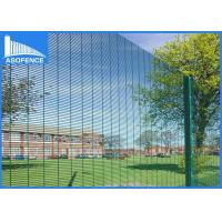 Wholesale Welded Mesh Security Fencing Anti Climb , Burglar Proof Fence Spikes 40*40*4mm from china suppliers