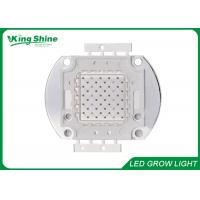 Wholesale Warm White Bridgelux Multichip Led Light Chip , Red 100 Watt Led Chip 660nm from china suppliers