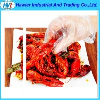 Buy cheap pe food disposable gloves from wholesalers