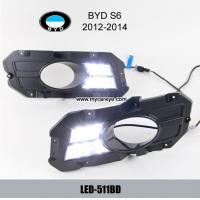 Wholesale BYD S6 DRL LED Daytime driving Lights Car headlight parts retrofit from china suppliers