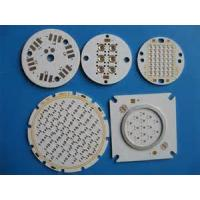 Wholesale Aluminium PCB , SMD led circuit PCB with White solder mask , V-cut 45°60° from china suppliers