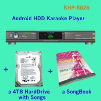 Wholesale 21440 Vietnamese HD songs include 4TB HDD All-in-one Android Lemon karaoke player large capcuity hard drive from china suppliers
