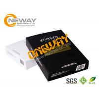 Wholesale Luxury Glossy Printed Packaging Boxes Black And White Die Cut 2 - 7 mm Thickness from china suppliers