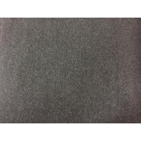Wholesale 100 Polyester Velvet Fabric 580g/m , Wool Upholstery Fabric Charcoal Color from china suppliers