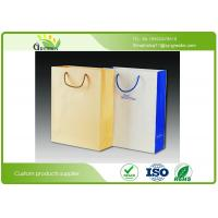 Wholesale Silk Printed Paper Shopping Bags , Die Cutting Handle Kraft Paper Gift Bags from china suppliers