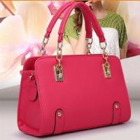 Wholesale PU Women Leather Handbags 2015 New Fashion Designer Bags Handbags Famous Brand Women Bag L from china suppliers