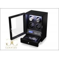 Wholesale LED Watch Winder / Quad Watch Winder Box With LCD Display LCD Control Panel from china suppliers