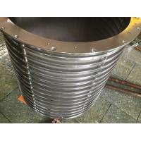 Buy cheap Hot sale pressure screen basket with high quality  for paper mill from wholesalers