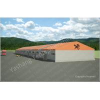 Wholesale Customised Orange Warehouse Temporary Storage Shelters Huge Tent Rentals Eco Friendly from china suppliers