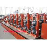 Wholesale Straight Seam High Frequency Cold Roll Forming Machine / Square Tube Making Machine from china suppliers