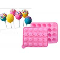 Wholesale DIY 22.5*18.2cm Silicone Candy Molds For Lollipop  Biscuit Baking from china suppliers
