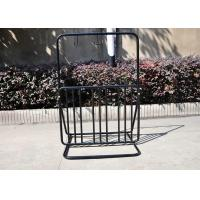 Wholesale Floor Motorcycle / Electric Bicycle Display Stand Rack For Park from china suppliers